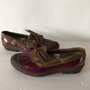 UGG Ashdale Purple Duck Rain Boots Loafers 11